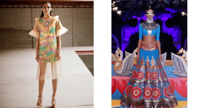 Manish Arora Live up to his nickname John Galliano of india