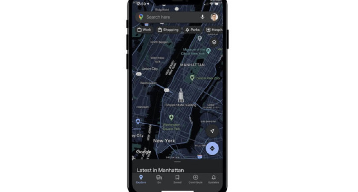 iOS Users to Soon get Dark Mode for Google Maps